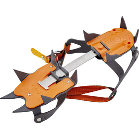 Climbing Technology Nevis Flex Bar Stijgijzers 10P, grijs/oranje